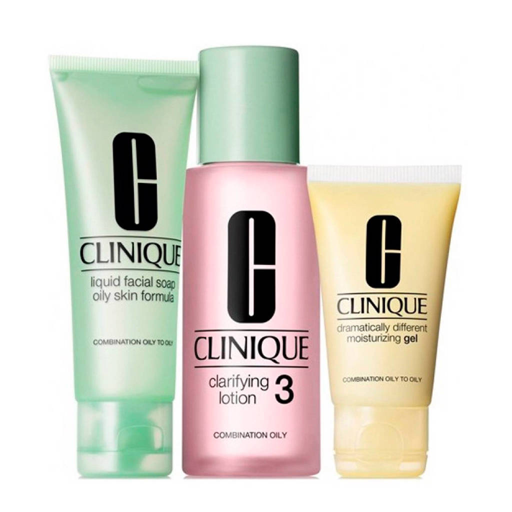 Clinique 3-Step Intro Kit Skin Type 3 - 180 ml