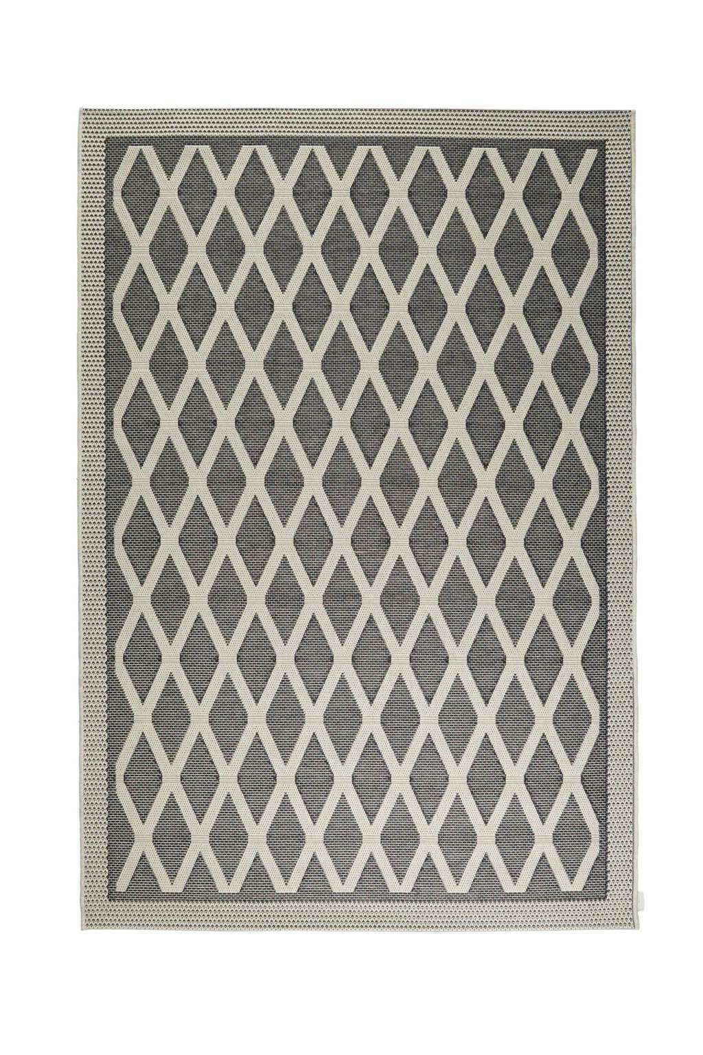 whkmp's own Vloerkleed  (230x155 cm), Zwart/wit