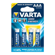 Set 4 AAA batterijen