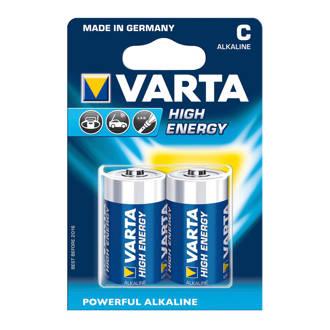 Set 2 High Energy Batterijen type C