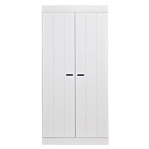 Woood 2-deurs kledingkast Connect