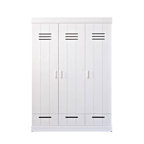 Woood 3-deurs kledingkast Connect