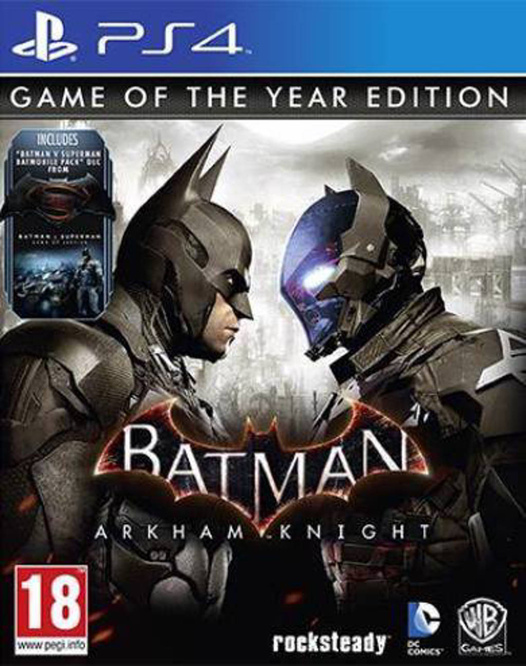 Batman Arkham knight (GOTY) (PlayStation 4)