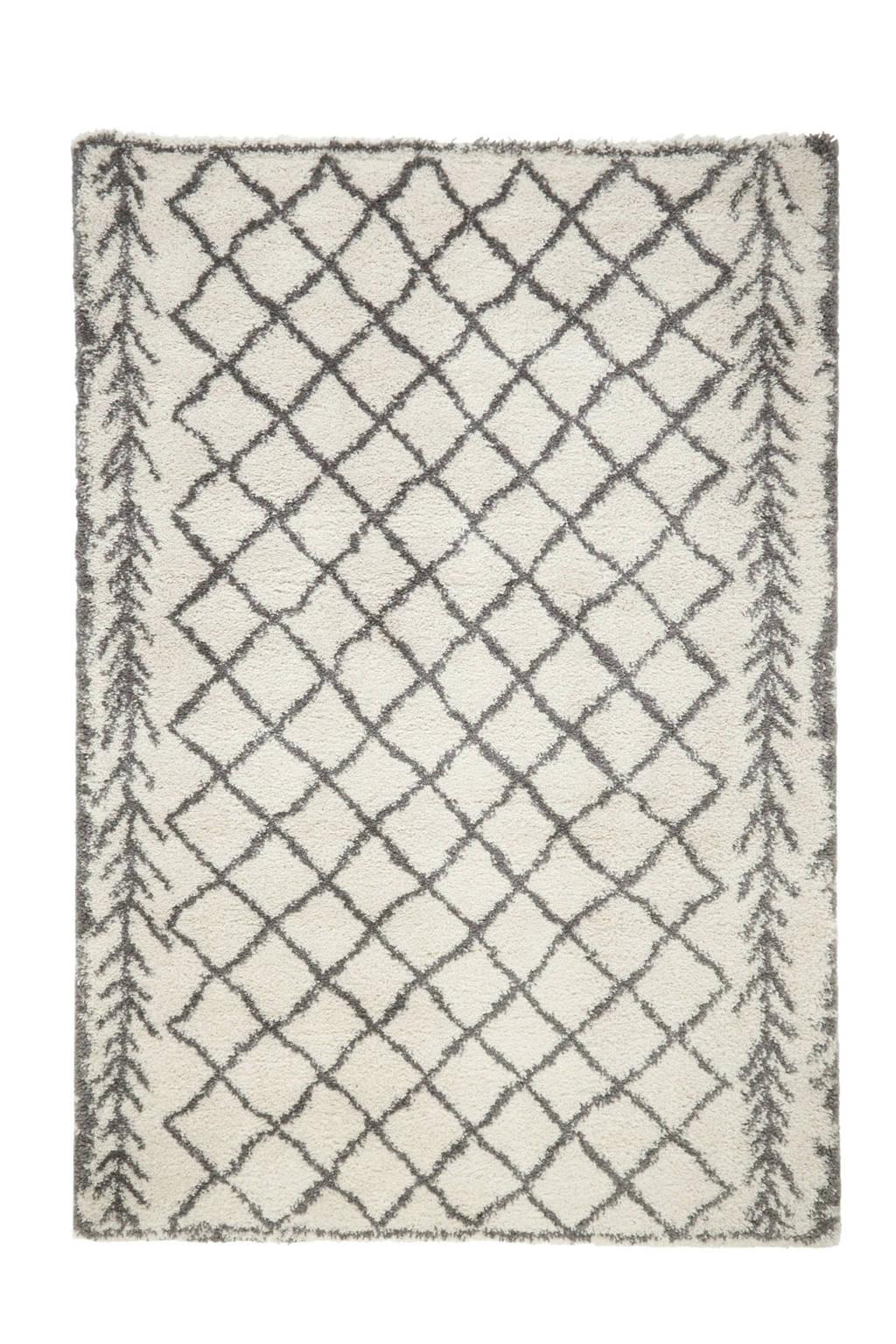 whkmp's own Vloerkleed  (230x160 cm), Wit/zwart
