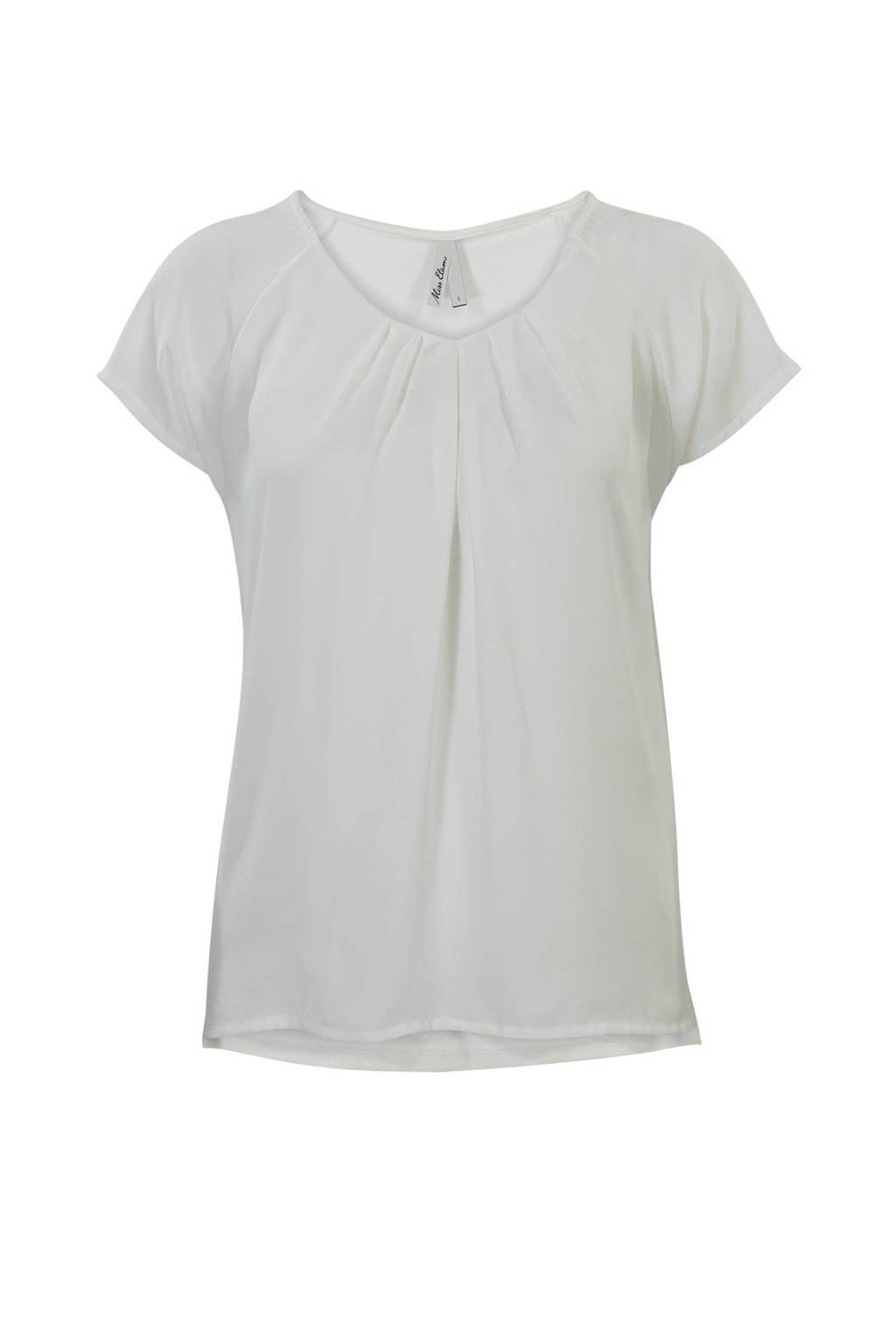 Miss Etam Regulier T-shirt, naturel wit