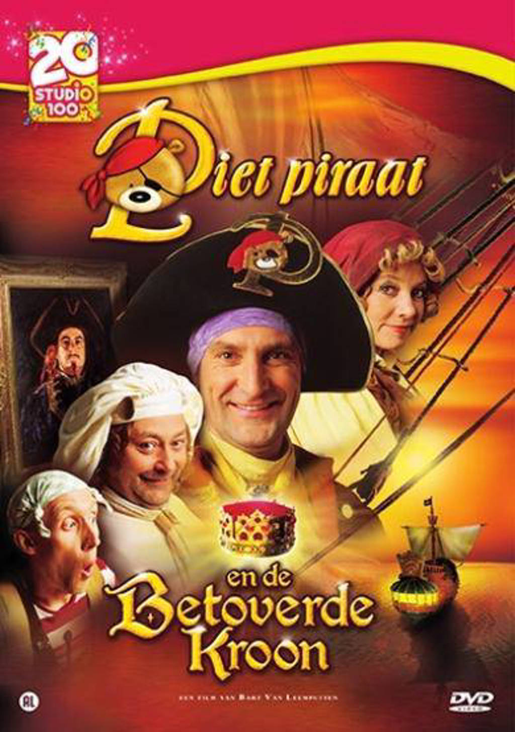 Piet Piraat -  En de betoverde kroon (DVD)