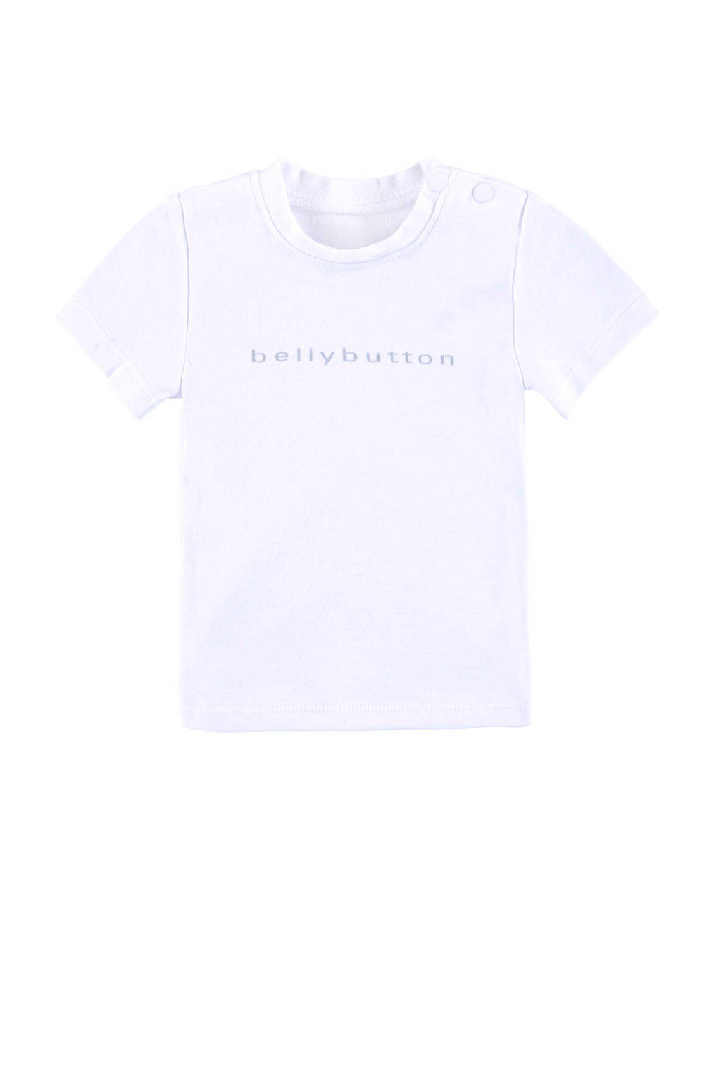 bellybutton T-shirt, Wit