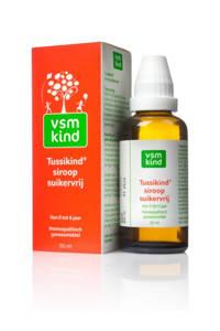 VSM Kind Tussikind siroop suikervrij 0-6 jaar - 50 ml
