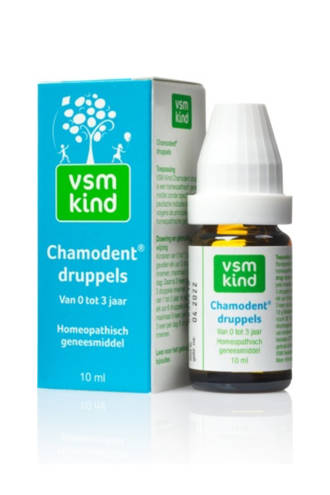 Kind Chamodent druppels 0-3 jaar - 10 ml