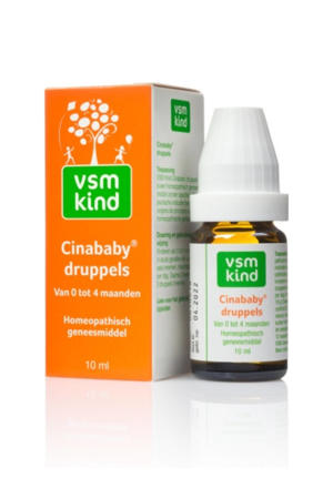 Kind Cinababy druppels 0-4 maanden - 10 ml