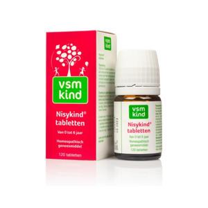 Kind Nisykind tabletten 0-6 jaar - 120 stuks
