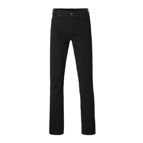 Wrangler regular fit jeans Texas black overdye
