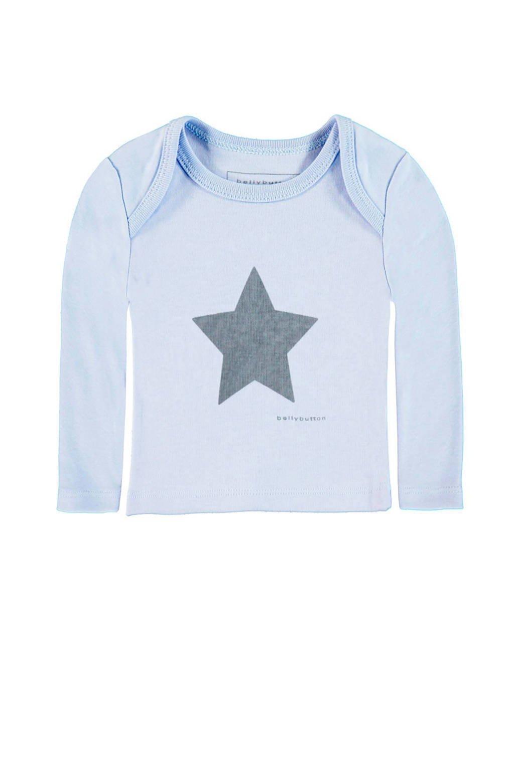bellybutton T-shirt, Lichtblauw
