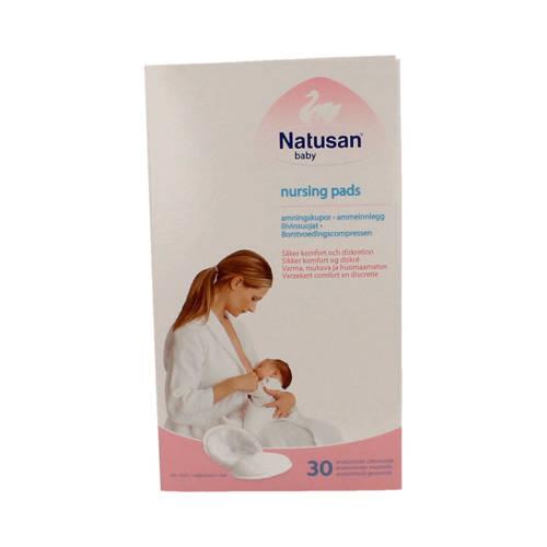 Natusan borstvoedingscompressen - 30 stuks