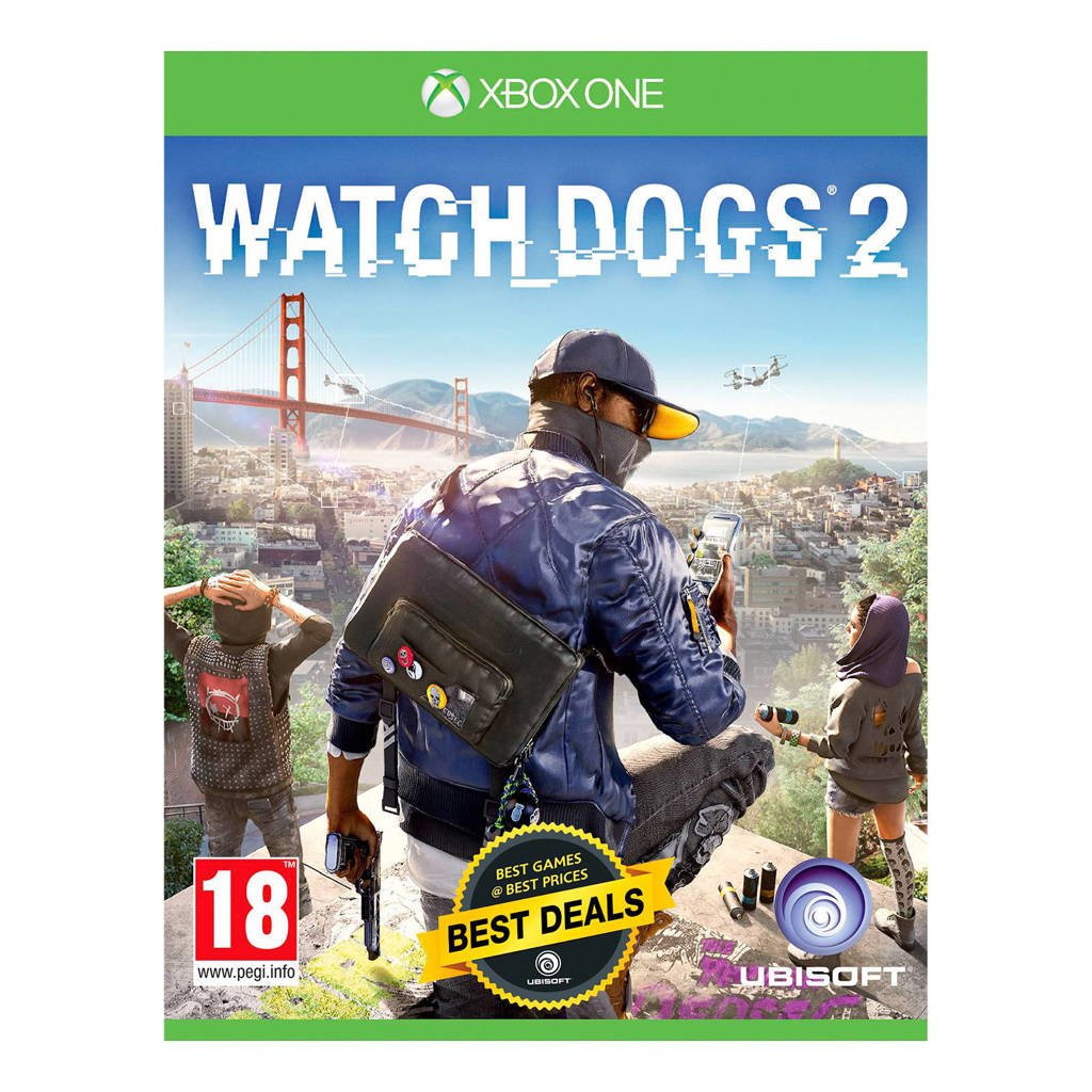 Watch Dogs 2 - standaard editie (Xbox One)