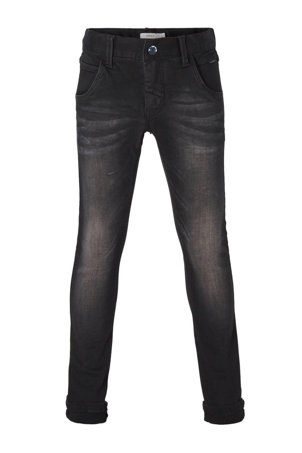 NAME IT x-slim fit jeans NITCLA zwart, Zwart