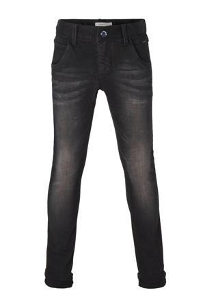 x-slim fit jeans NITCLA zwart