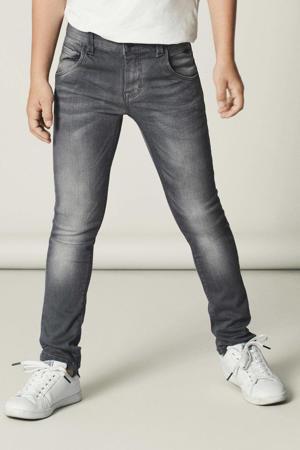 x-slim fit jeans NITCLA grijs