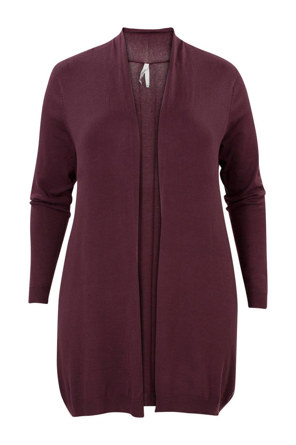 Miss Etam Plus vest, Aubergine