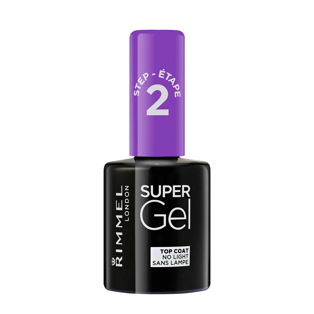 Rimmel London SuperGel Top Coat, 001 Transparant