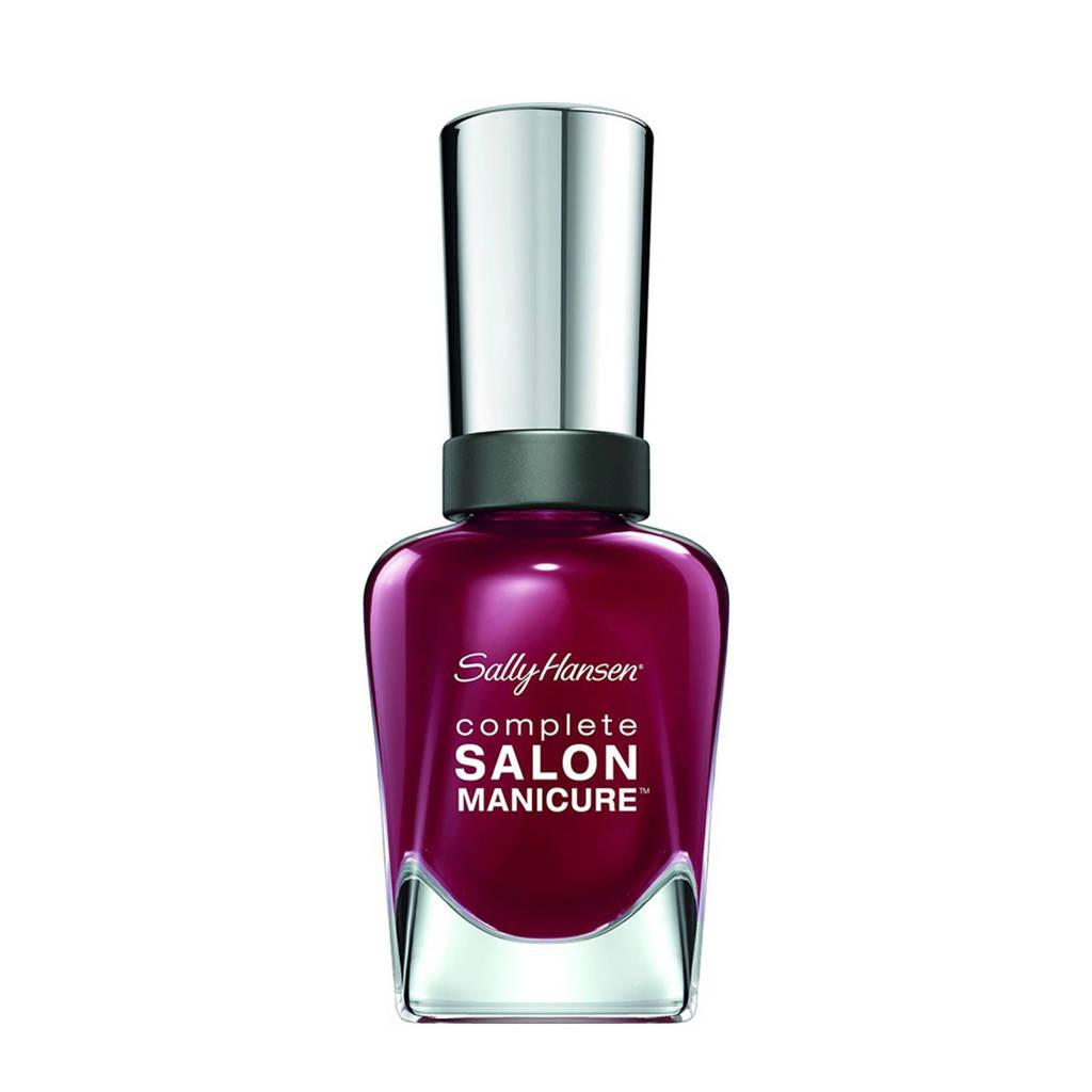 Sally Hansen Complete Salon Manicure nagellak - 610 Red Zin
