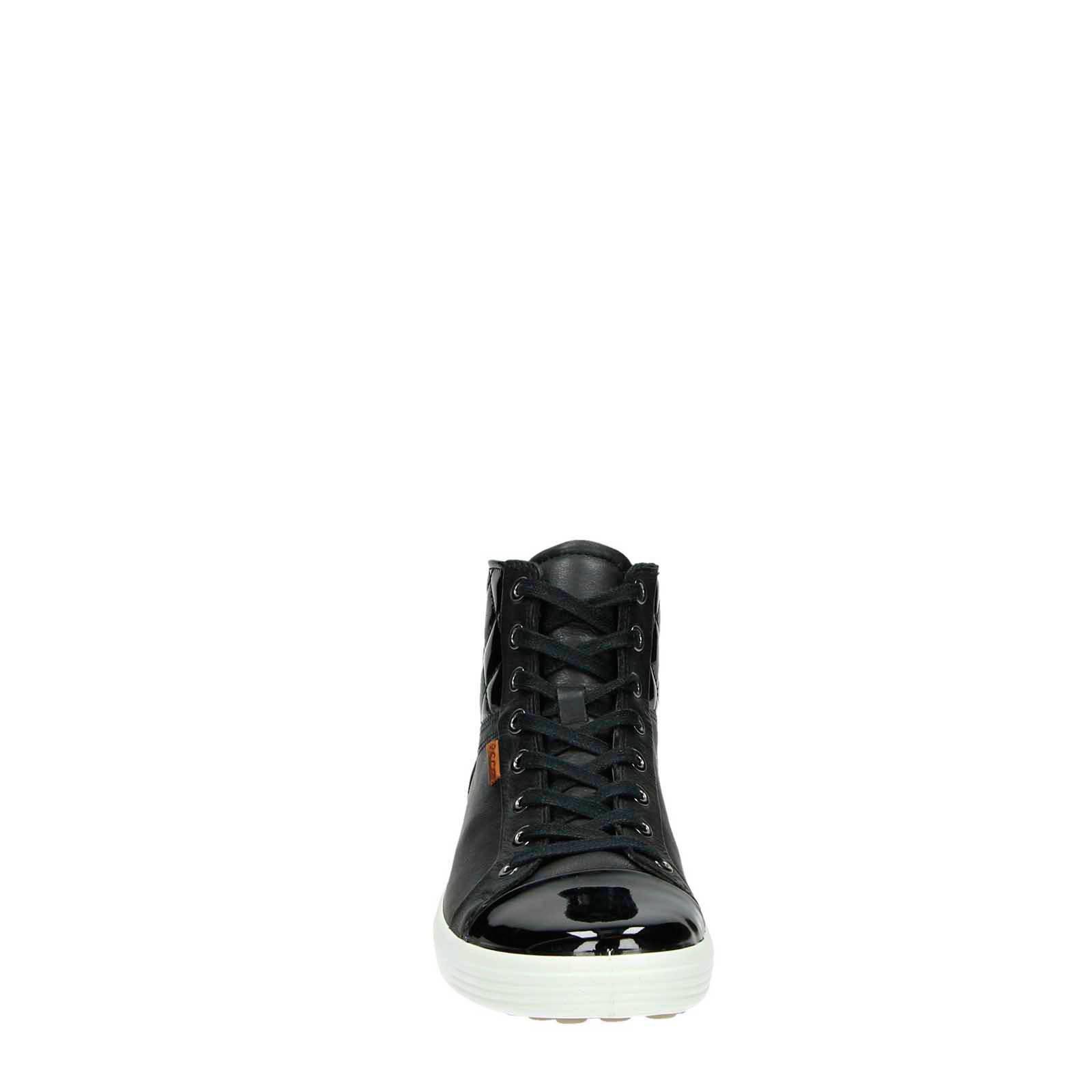 Ecco Soft 7 leren sneakers   wehkamp