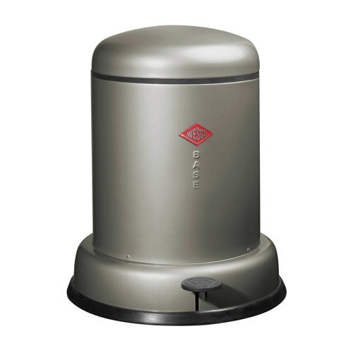 Pedaalemmer Wesco Baseboy 8 liter, Zilver