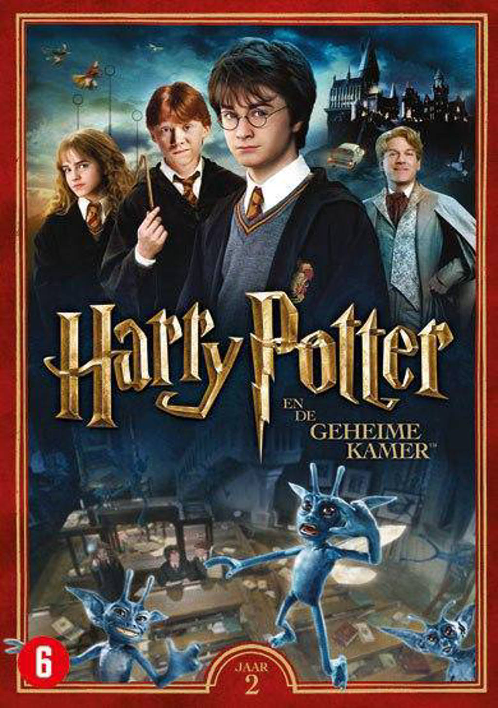 Harry Potter jaar 2 - De geheime kamer (DVD)