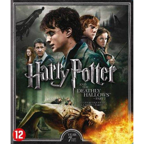 Harry Potter year 7 - The deathly hallows part 2 (Blu-ray) kopen