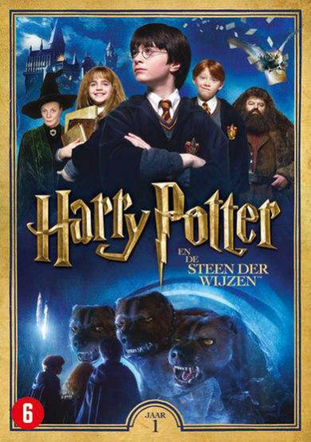 Harry Potter jaar 1 - De steen der wijzen (DVD)