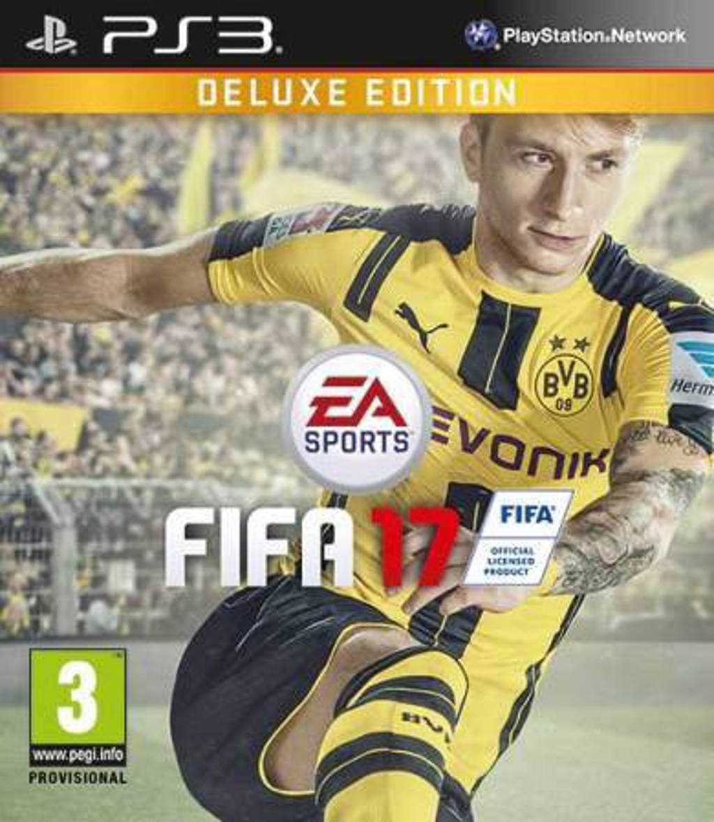 FIFA 17 (Deluxe edition) (PlayStation 3)
