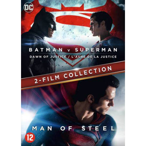 Batman v Superman - Dawn of justice + Man of steel (DVD) kopen