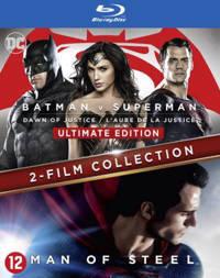 Batman v Superman - Dawn of justice + Man of steel (Blu-ray)