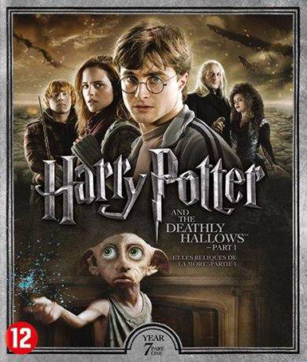 Harry Potter year 7 - The deathly hallows part 1 (Blu-ray)