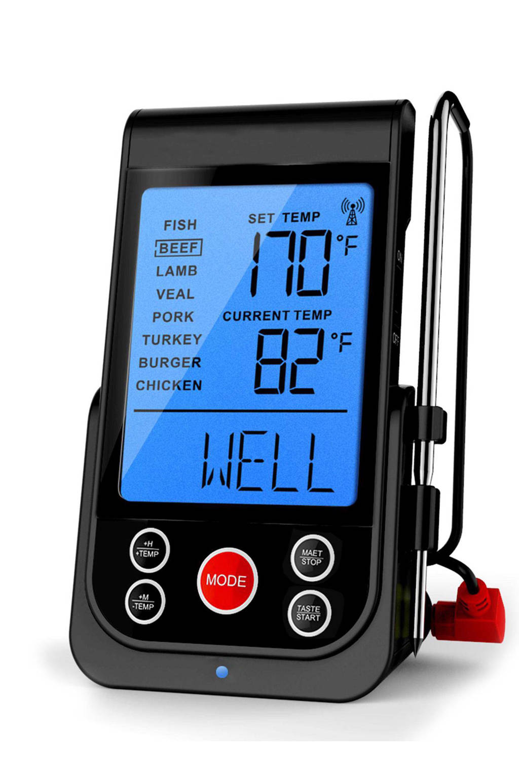 Barbecook draadloze thermometer met timer