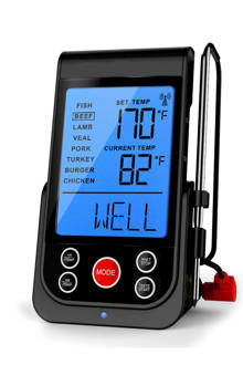 draadloze thermometer met timer