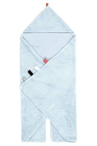 Trendy Wrapping wikkeldeken fading blue