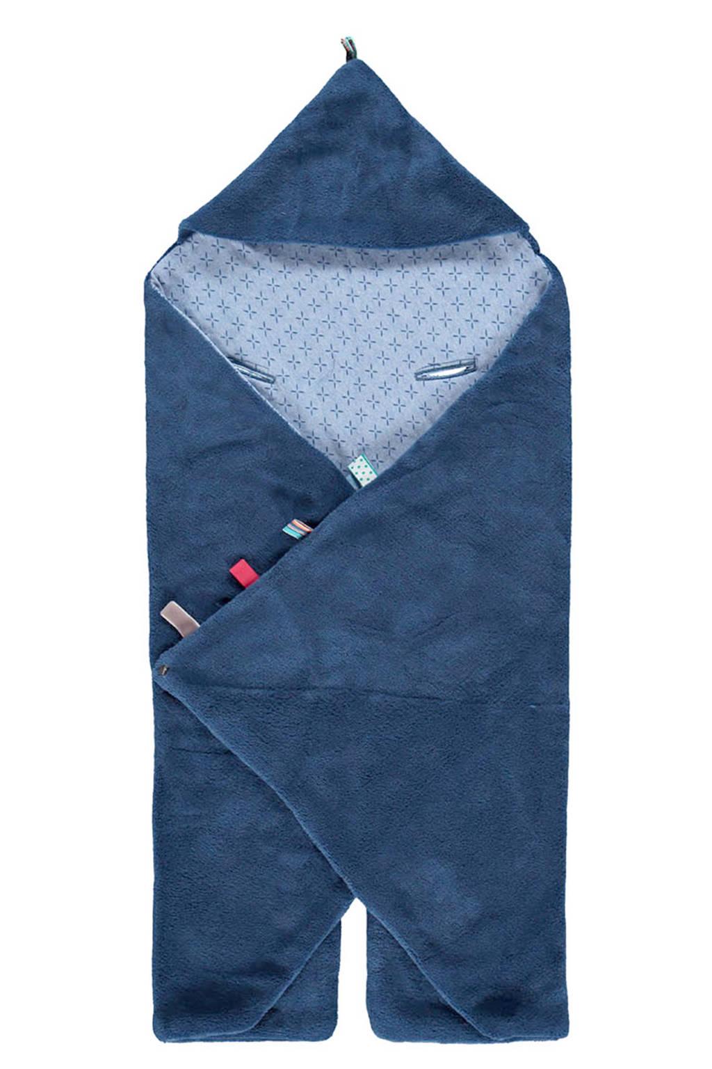 Snoozebaby Trendy Wrapping wikkeldeken indigo blue