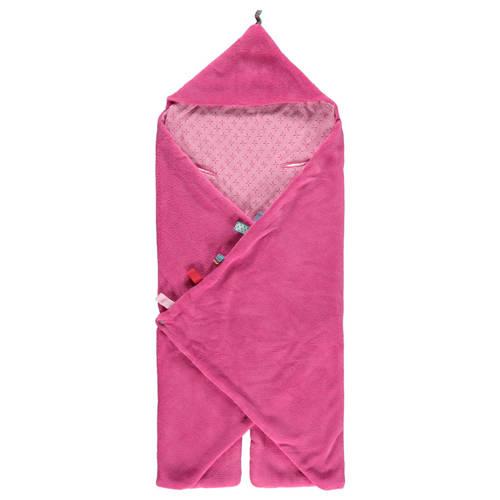 Snoozebaby trendy wrapping wikkeldeken funky pink