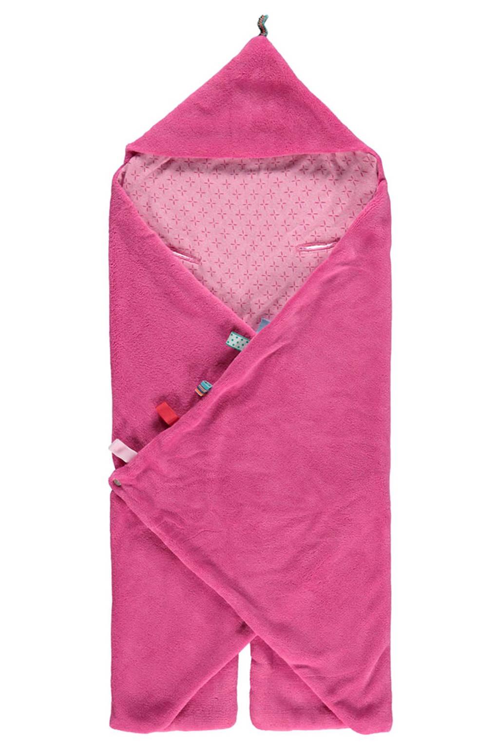 Snoozebaby Trendy Wrapping wikkeldeken funky pink, Funky Pink