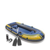 Intex Challenger 3 opblaasbare boot, Geel