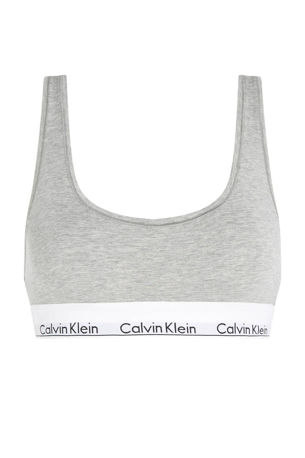 Calvin Klein Underwear bralette, Grijs melee