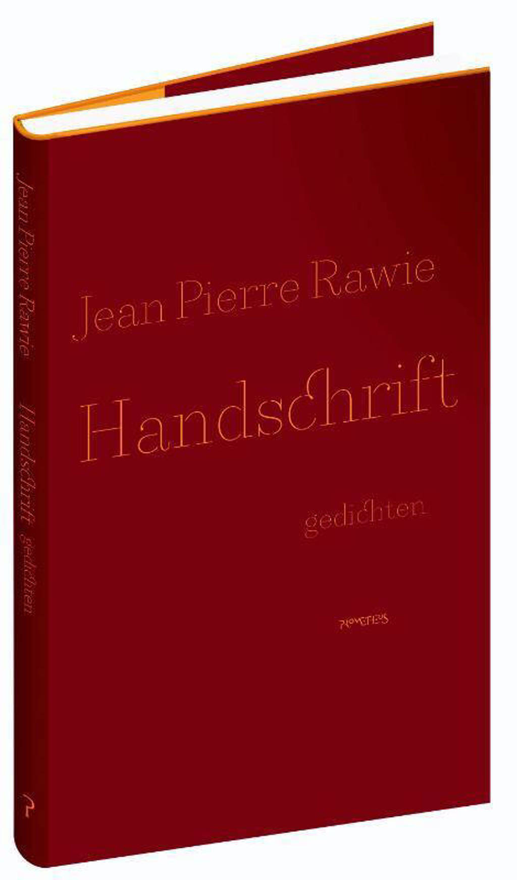 Handschrift - Jean Pierre Rawie