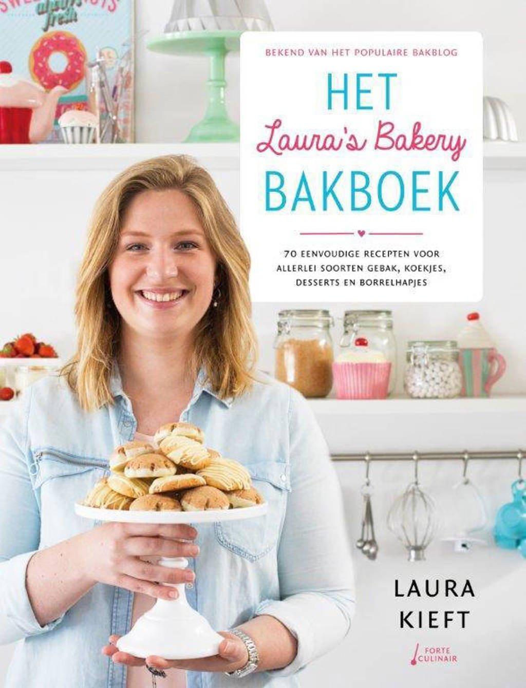 Het Laura's bakery bakboek - Laura Kieft