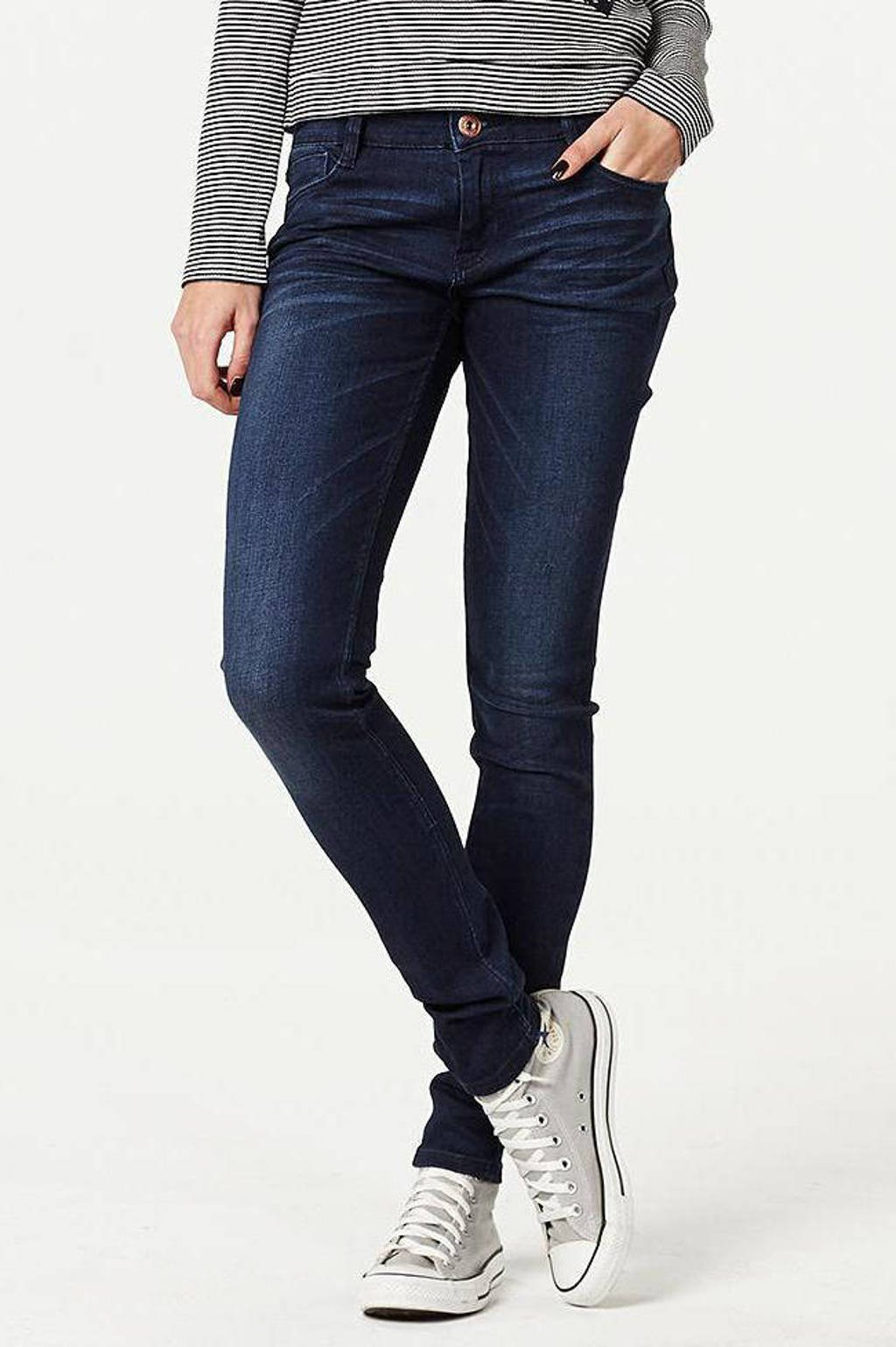 Cars Gaby skinny fit mid rise jeans, Dark used