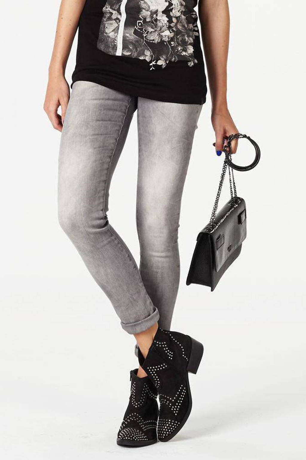 Cars Victoria skinny fit jeans grey used, Grey used