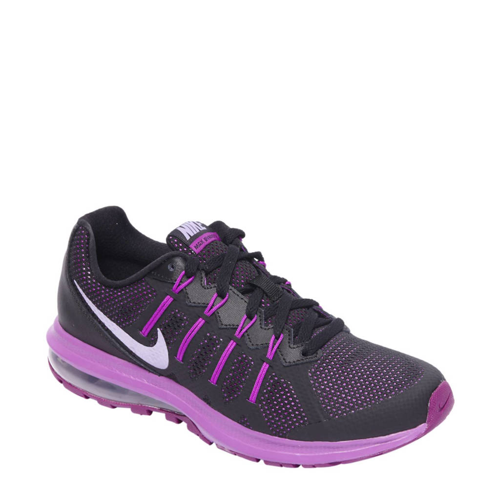 fd0197505ae Nike Air Max Dynasty lichtgewicht sneakers, Zwart/paars