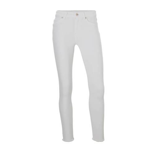 ONLY jeans Blush met gerafelde zoom