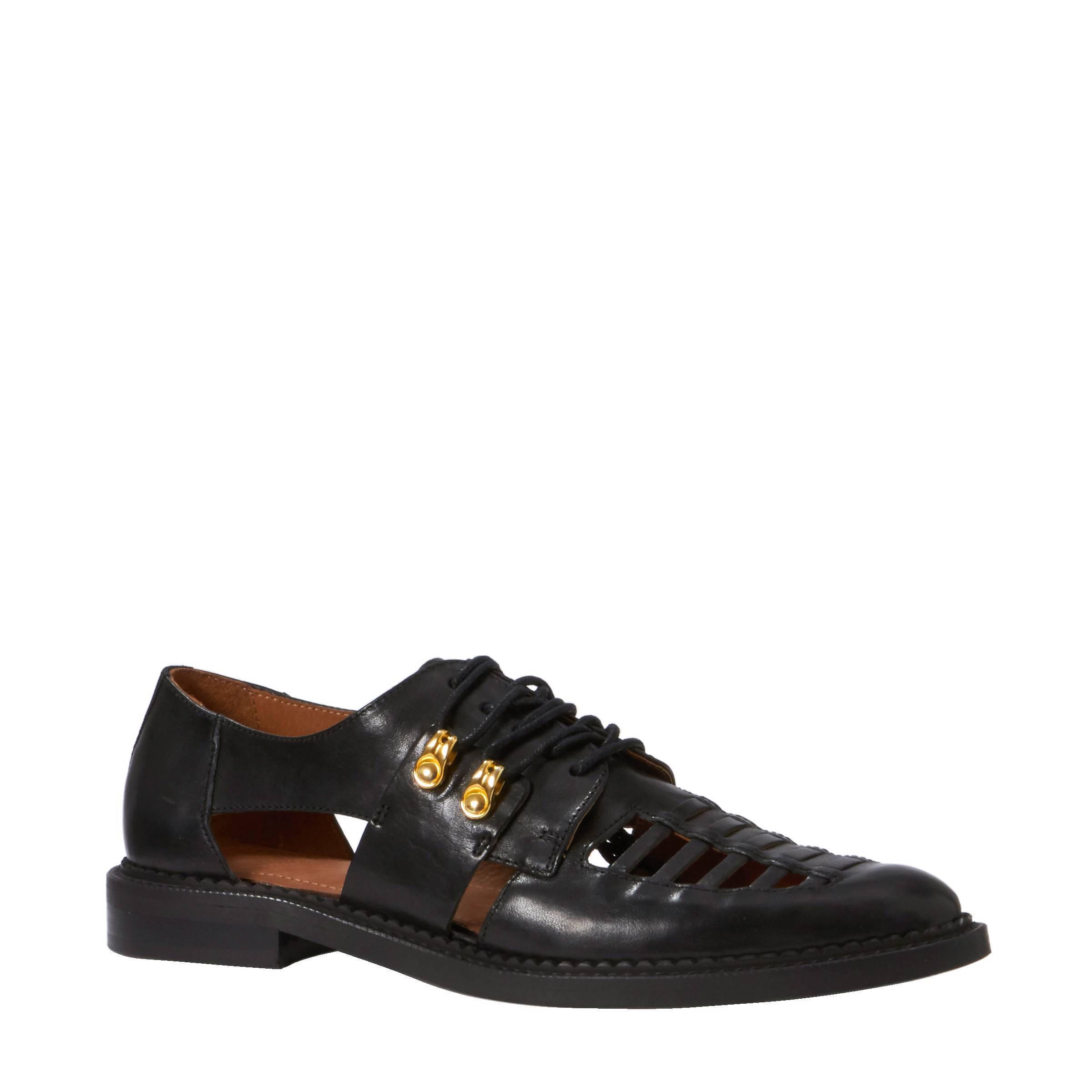 Chaussures À Lacets Noir / Brun jugxpboV