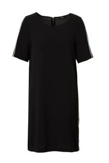 jurk met zijstreep